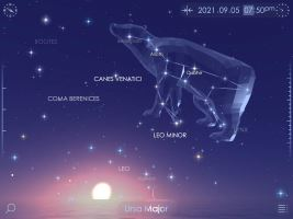 Star Walk 2 Ads+: Mapa estelar