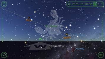 Star Walk HD - Mapa del Cielo